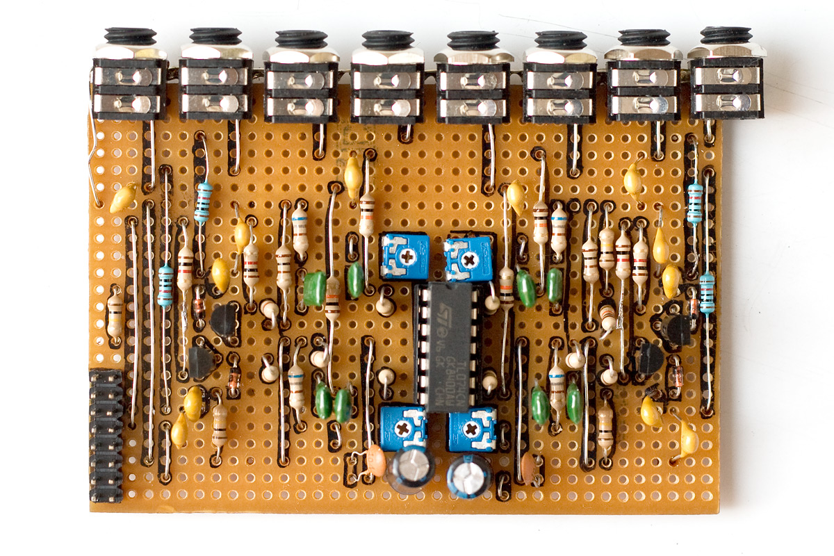 Schematics Modular Synth Lm317 Voltage Regulator Calculator Electronic Circuits Quad Adjustable Tom Is Minimalistic Percussion Module That Consists Of 4 Identical Analog Toms The Main Feature This It