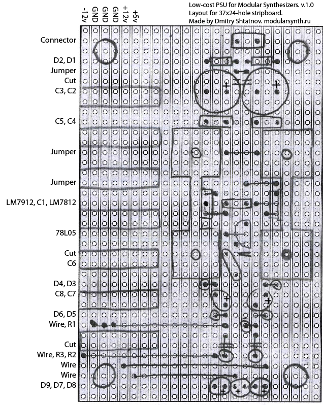 psu_low_cost_layout_stripboard