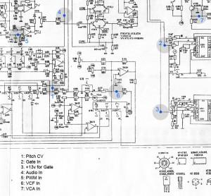 Схема РИТМ-2 с подключениями